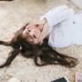 前髪を横流しするならコテかストレートアイロン!作り方解説!