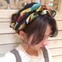 スカーフへアアレンジ55選!【ロング・ミディアム・ショート】
