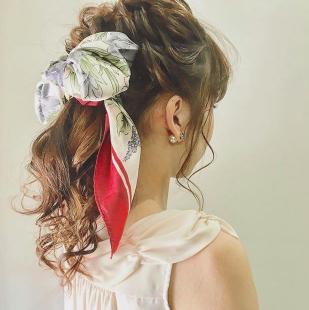 バンダナ・スカーフのヘアアレンジ50選!髪型別に紹介します!