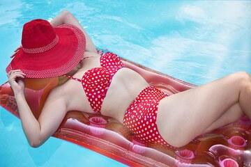 【藤田ニコルの水着】キュートな水着画像55枚!スレンダー美ボディ♡