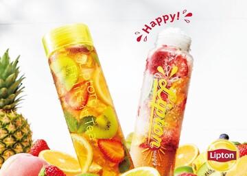 紅茶のパフェ氷が楽しめる「Lipton TEA STAND Fruits in Tea」が限定オープン!
