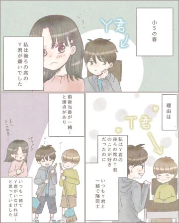 嫌いだった彼【Lovely漫画】