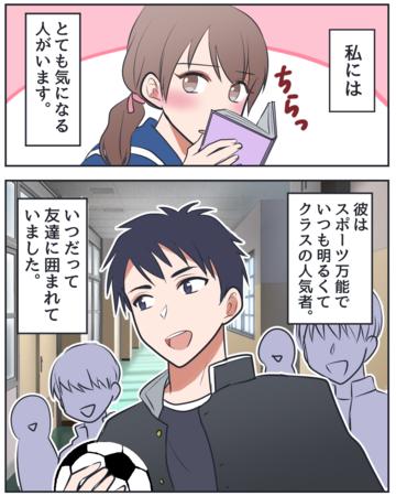 私の大きな第一歩【Lovely漫画】