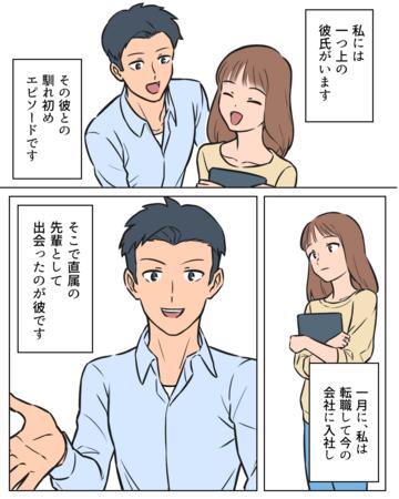 普通の愛情をくれる先輩【Lovely漫画】